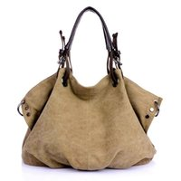 Evening Bags Women Canvas Messenger Female Crossbody Solid Shoulder Bag Fashion Casual Designer Handbag Large Capacity Tote