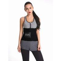 Women's Shapers Workout Lumbar Back Support Sweat Waist Trainer Trimmer Belt Neoprene Slim Band For Weight Loss Sport Girdles