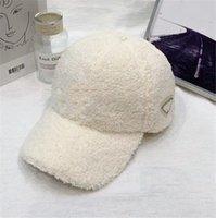 Designer Pluche Cap Honkbal Hoeden Mode Mens Womens Sport Hoed Herfst Winter Borduurwerk Craft Man Classic Style Groothandel Sunshade