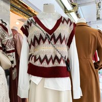 2021 جديد inverno nova cor slida الكشمير blusas femininas com decote em v de malha الداخلية feminino curto beacting net vermelho camisola t