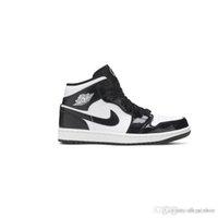 الرجال النساء 1 منتصف حد ذاتها كل ستار 2021 أحذية كرة السلة ألياف الكربون الطباعة S 1S ارتفاع Jumpman أحذية رياضية DD1649 001