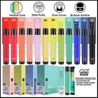 Otantik Vapen Makro 2000 Puffs Tek Kullanımlık Vape Kalem Dikey Bobin Artı XXL XTRA Ekstra Flex Buharlaştırıcı Önceden doldurulmuş çubuklar e Cigs Buharlaştırıcılar