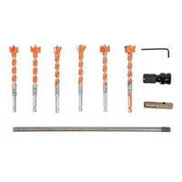 Werkzeugteile SEX-Schaft verlängerter Faden-Legierungs-Lochöffner-Bohrer Holzbearbeitung 7L3O