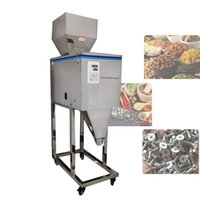 Food Processors Automatic Weighing Packaging Granular Powder Filling Machine Intelligent Packing Tea Seed