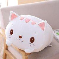 Pillow Cartoon Comfortable Plush Toys Doll Baby Cute Anime Plushie Stuffed Animals Soft Sleeping Gift