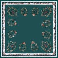 Siqi 70 * 70 cm pequena cadeia quadrada impressão de seda desgaste profissional de seda com lenço
