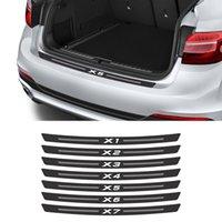 Kohlefaser-Kofferraumaufkleber Aufkleber für BMW X5 E53 E80 E83 F15 G05 X1 F48 X3 F25 X6 E71 X2 F39 X4 F26 X7 G07 Autozubehör