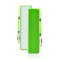 Boîtier de banque d'alimentation externe PORTABLE 18650 Chargeur de batterie 2600MAH Pas de piles PowerBank avec chaîne clé
