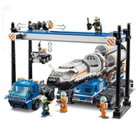 In Stock City Seri Space Rocket Center Building Blocks Brick Education Toys Compatible with 60227 60228 60229 LJ200925