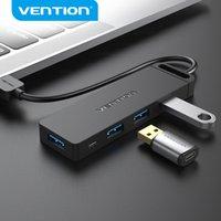 Драйкота USB Hub 3 0 Адаптер 4 Порты USB 3.0 Splitter Высокоскоростной OTG Adaptador для ноутбуков ПК Компьютерные аксессуары 2.0 HUB USB