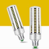 E26 LED Bulbs 5W-25W Bulb E27 Standard Base Decorative Non-Dimmable Chandelier Cool White 6000K Corn Lamp crestech