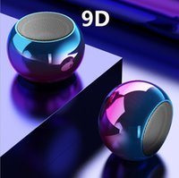 Mini Speaker Popular TWS Wireless Bluetooth electroplating gradient m3 small steel gun portable household sound