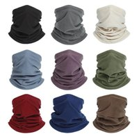 Scarves Outdoor Polar Fleece Windproof Thermal Winter Warm Tube Scarf Half Face Mask Neck Warmer Magic Cycling