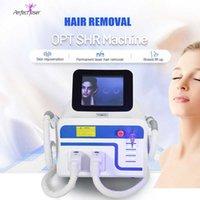 الجمال المحمولة ipl معدات الليزر إزالة الشعر السريع + علاج الصباغ آلات elight ce المعتمدة