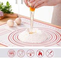Бестрещее силиконовый коврик для выпечки коврик для выпечки листовые стекловолокна прокатки тесто коврик печенье для домашних кондитерских изделий