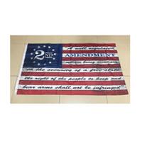 DHL быстрая 2-я поправка Винтаж Американский открытый баннер флаг 3х5 футов (90 см * 150см) пользовательских баскетбольных флаги баскетбольных флаг баскетболистов США CT22