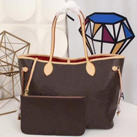 2019 yeni kadın deri çanta kadın anne paketi çanta el anne fatura konşimento omuz çantası kadın çanta + küçük çanta N51106 M40157