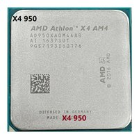 AMD Athlon X4 950 3.5 جيجا هرتز رباعي النواة 65W مقبس AM4 سطح المكتب المعالج المعالج في الأسهم الشحن السريع