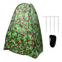 1 قطعة التخييم خيمة في الهواء الطلق التلقائي تغيير الملابس خيمة المرحاض المنقولة