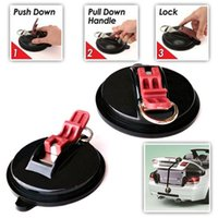 Suction Cup Anchor With S-Hooks Suction Cup Anchor For Car Accessories With Securing Hook For Car Truck Auto Goods
