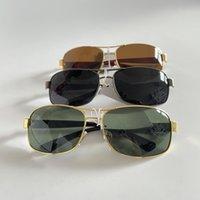مصمم النظارات الشمسية للرجال النساء عدسة الزجاج نظارات الشمس uv حماية سائق نظارات قيادة النظارات نظارات