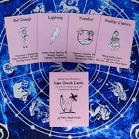 Pink Lsland Time Wellness Love Oracle Cards Divination Deck Entertainment Party Board Game Support Drop Shipping 54 Sheets Box