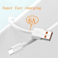 OEM quality Super fast charge PD USB to C cable USB charger type -C 1m 3FT 6A OD3.8 data transfer cable is Samsung S9 S10 xiaomi HuaweiCharging Adapter cable
