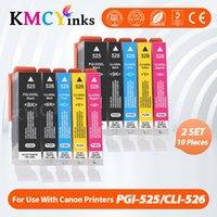 KMCyinks PGI525 PGI 525 cli 526 cartucce d'inchiostro per Canon Pixma IP4850 IX6550 MG5150 MG5250 MG6150 MG8150 MX885 MG5350 Stampante