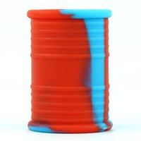 Öltrommelbehälter Herb Container zeigen Gläser Tabakgefäß Rauchen Zubehör Silikonkiste