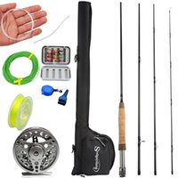 Boat Fishing Rods 2.7m Rod And Reel Combos Portable Freshwater Full Metal 5 6 Reels Set Trout Salmon Carp