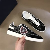 shoes Sneaker Mens High Top Ace Sneakers Fashion Real Leather Trainers for Men Casual with Box ii