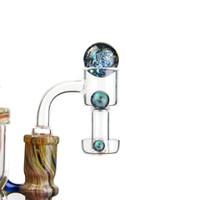 TERP SLURPER BANCER BIGHER Edge quarzo al quarzo Banger con perla terp per acqua di vetro Bongs Rigs petrolifero Acqua Pipes785