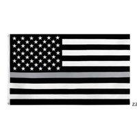 90 * 150 cm americano bandeiras azul listra polícia bandeira 8 cores Estados Unidos Estados EUA EUA da América HWA6069
