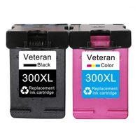 Veterano Cartucho de tinta rellenado 300xl Compatible para 300 XL 300 DeskJet F2420 F2480 D1660 D2560 D2660 D5560 F2492 Printer1