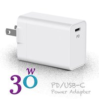 USB C Power Adapter PD QC3.0 30W TYPE-C Wall Chargers for USB-C Laptops MacBook xiaomi Samsung Charger