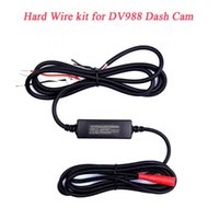 Car Rear View Cameras& Parking Sensors Hardwire Fuse Kit Low Voltage Protection 12V To 5V Power Adapter Cable For DV988 Motorcycle WiFi Dash