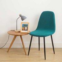껍질 의자 커버 중반 세기 좌석 커버 Eames 의자 다이아몬드 격자 무늬 중반 세기 무장 껍질