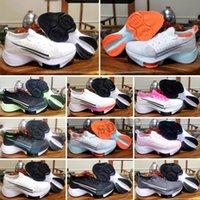 Zoom Tempo Next% FK scarpe da corsa maratona bianca nera hyper viola flash cremisi abete rosso aura elettrico verde mens scarpe da ginnastica da uomo