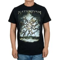 Camisetas para hombre 10 tipos Harajuku Kataklysm Rock Brand Shirt 3D Gargoyle Skull Fitness Hardrock pesado Dark Metal 100% algodón Streetwear Camise