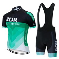 Ciclismo Jersey Sets 2021 Bor Team Gel Pad Bike Shorts Ropa Ciclismo Mens Summer Wear Quick Seco Bicycling Maillot Culotte
