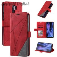 Fashion Stand Business Phone Holster Case For Samsung Galaxy S7 S8 S9 S10 S20 Plus Note 10 Lite 20 8 9 Ultra Stripe Wallet Rhombus Cover