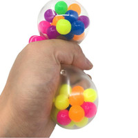 Anti Stress Face Reliever Colorful Ball Autism Mood Squeeze ...