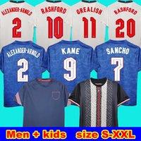 Alexander-Arnold Rashford 축구 유니폼 2020 Kane Sterling Rashford Lingard Vardy 20 21 England Men + Kids Kit Training Suit