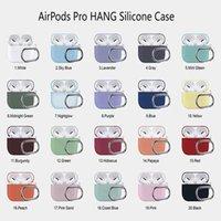 Nueva caja de auriculares para Apple Airpods Pro Case Funda de silicona para manzana PODS Pro 3 Auriculares Auriculares Auriculares Auriculares Caja de carga Abrocha a prueba de golpes