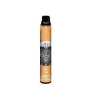 100% Original Factory E cigarette Disposable Vape Pen 5% 1800 puffs BREZE STIIK 2 IN 1 Double colors 8 Colors Electranic Cig Wholesale Bulk Price