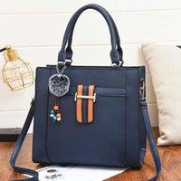 Fashion Crossbody Handbags Women Black Single Shoulder Bag Waterproof Oxford Textile Messenger Simple Female Card Bags Bolsas C7