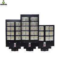 600W 800W 1000 W LED lampada solare Wall Street Light Super Bright Motion Sensor Lampada di sicurezza da giardino all'aperto con palo