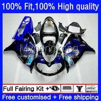 Failes de molde de inyección para Suzuki SRAD TL1000 TL 1000 R 1000R Llamas azules 98-03 Bodywork 30NO.9 TL1000R 98 99 00 01 02 03 TL-1000R 1998 1999 2000 2001 2002 2003 OEM Cuerpo