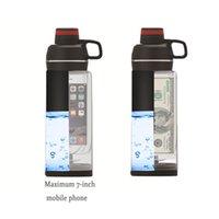 Creative Water Cup Phone Pocket Secret Stash Pill Organizer Can Safe Plastic Tumbler & Hiding Spot for Money Bonus Tool