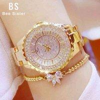 Designer Luxury Marca relógios Mulheres Es Diamante Diamante Quartz Senhoras Pulso Relógio De Aço Inoxidável Relogio Feminino